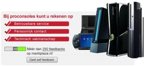 Afbeelding meerdere consoles